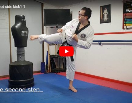 Front Foot Side Kick
