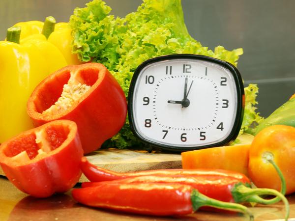 Eat regularly