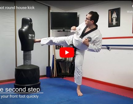 The Front Foot Roundhouse Kick