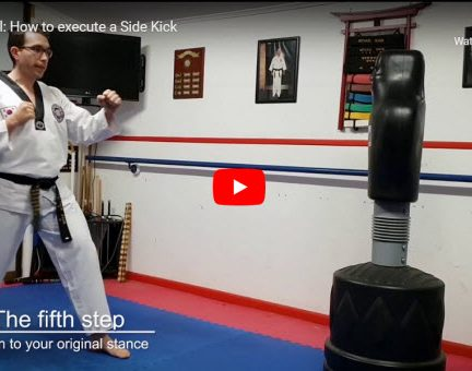 How to Carry out the Side Kick