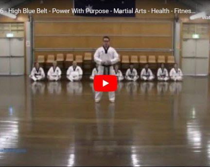 Taekwondo Palgwe 6