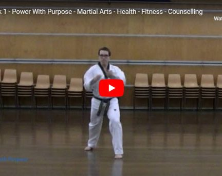 Taekwondo Taegeuk 1