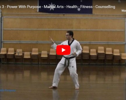 Taekwondo Taegeuk 3
