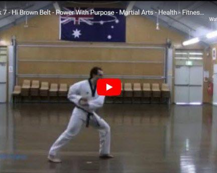 Taekwondo Taegeuk 7