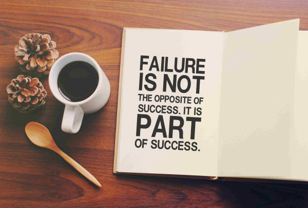 There are setbacks