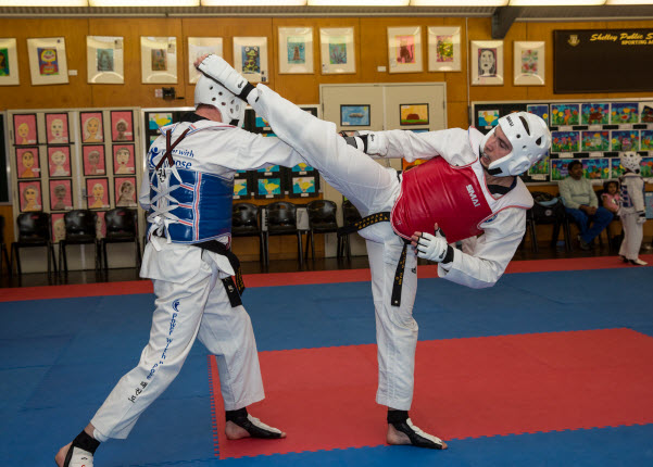 Disciplines within Taekwondo tournaments