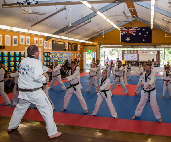 Mixed taekwondo classes