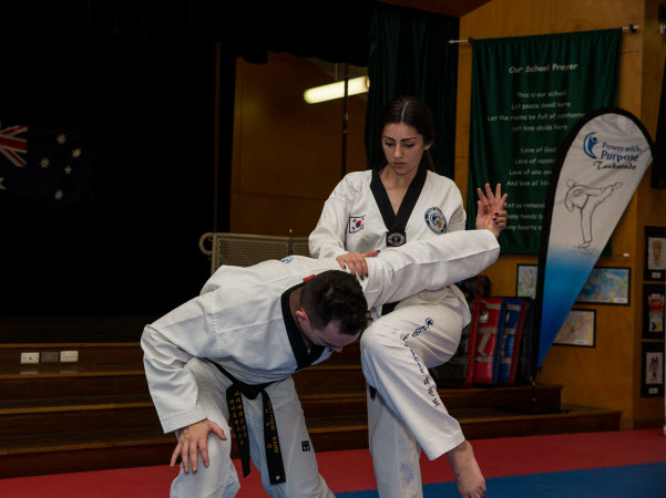 Self-defence class for ladies