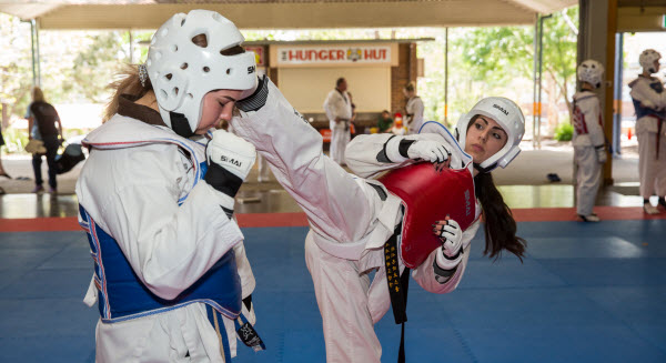 Sportmanship at tournament