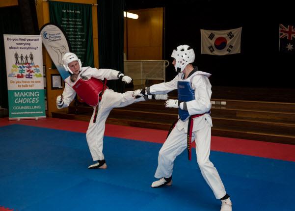 Taekwondo tournament preparation